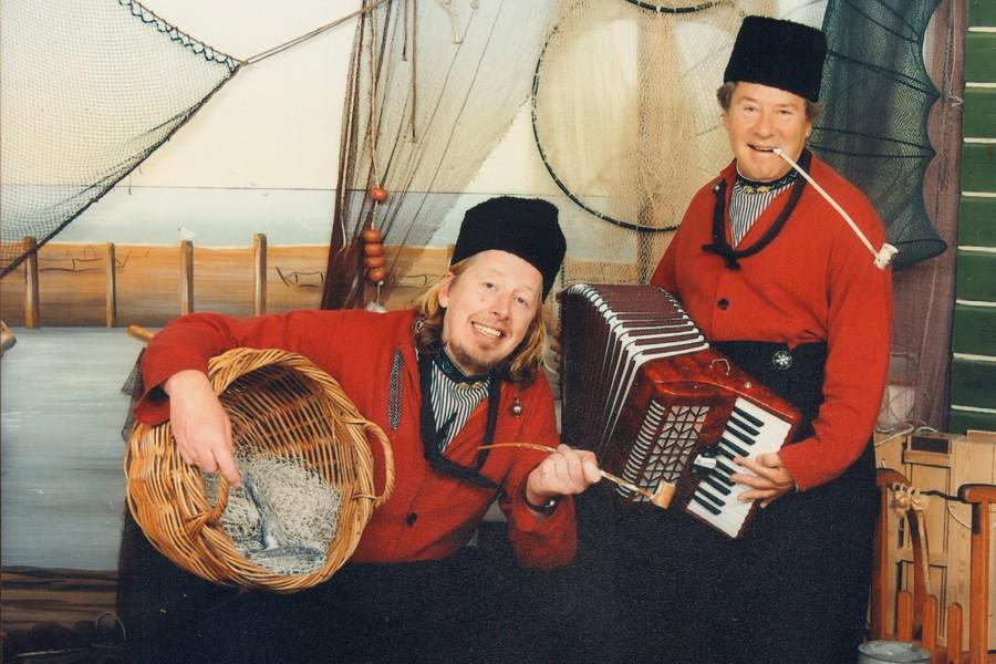 Palingvissers met Bill van Dijk.